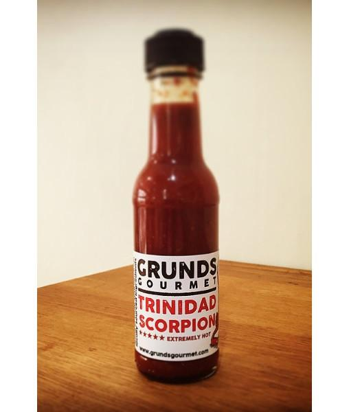 Trinidad Scorpion Sauce by Grunds by Grunds - House of Scoville