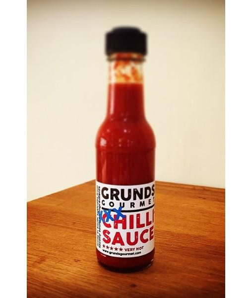 XXX Chilli Sauce (Habanero) by Grunds - House of Scoville