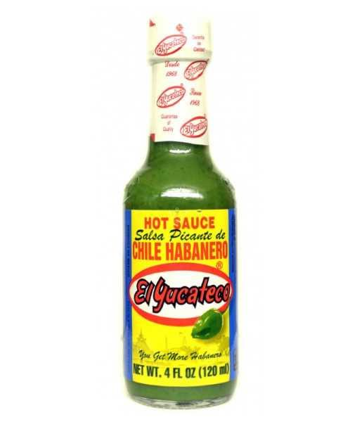 Habanero Green Hot Sauce by El Yucateco - House of Scoville