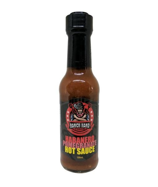 Habanero Pomegranate Hot Sauce by Ranch Hand Foods - House of Scoville