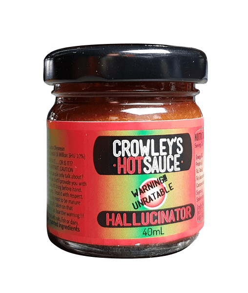 crowley's hallucinator hot sauce