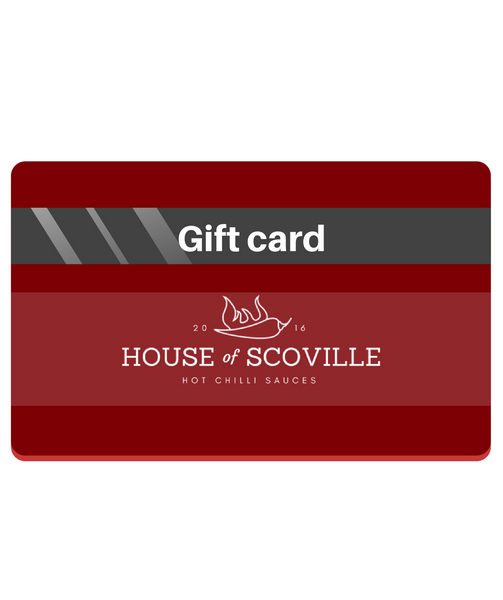 Hot Sauce Gift Card - House of Scoville