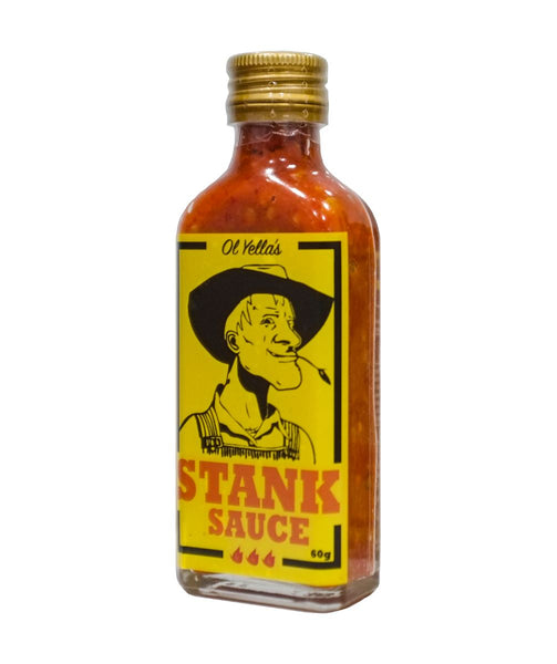 Hot Stank Sauce by Ol Yella's