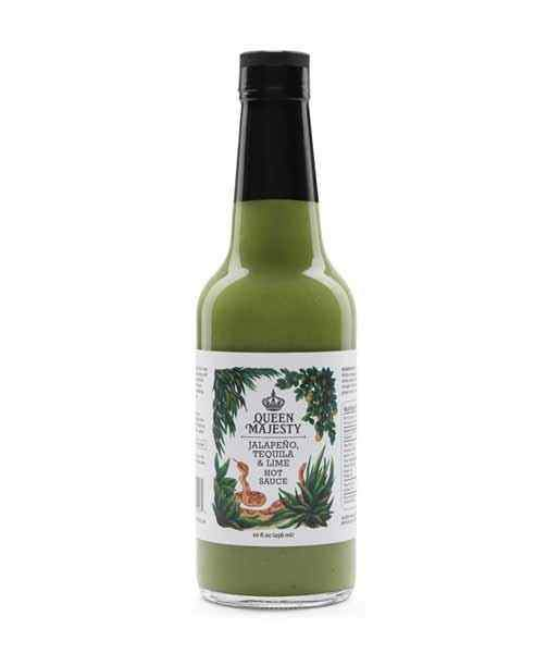 Jalapeno Tequila & Lime Hot Sauce by Queen Majesty - House of Scoville