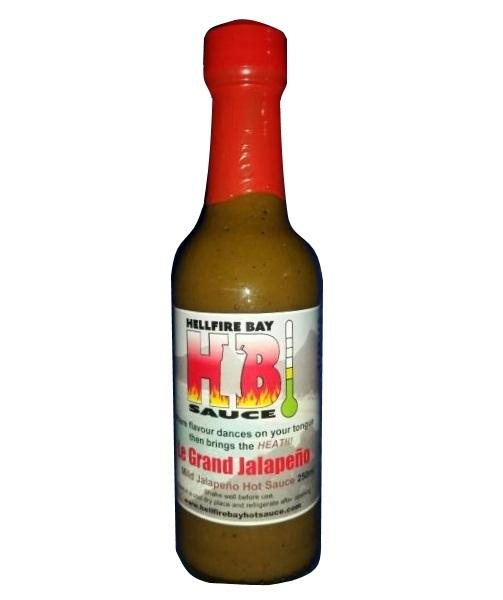 Le Grand Jalapeno by Hellfire Bay Hot Sauce - House of Scoville