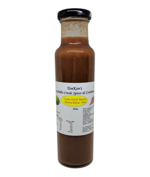 Lime Chilli Sauce by TonKen - House of Scoville
