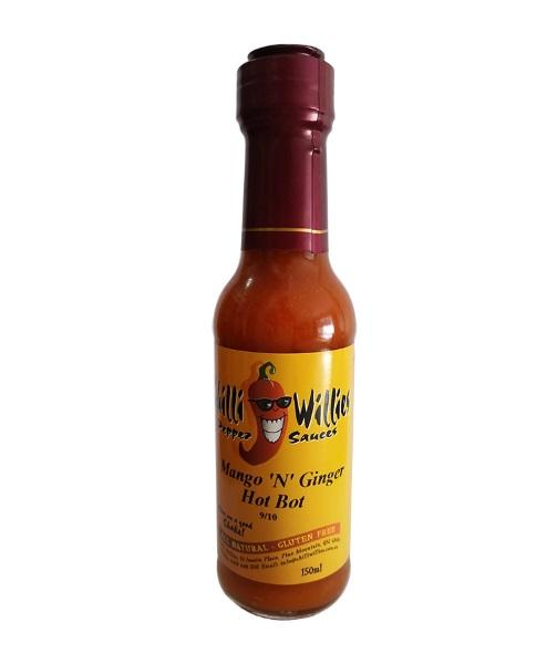 Mango'n'Ginger Hot Bot by Chilli Willies Pepper Sauces - House of Scoville