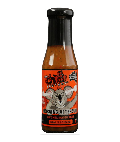 Morning Afterburn Hot Chilli Mango Sauce by The Chilli Factory - House of Scoville