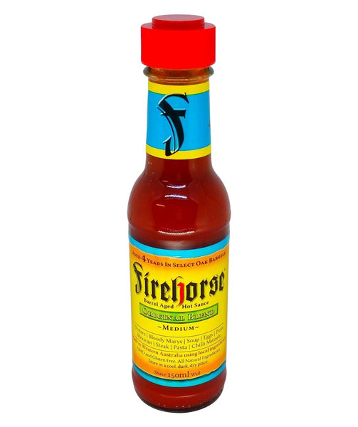 Original Blend Barrel Aged Hot Sauce by Firehorse - House of Scoville