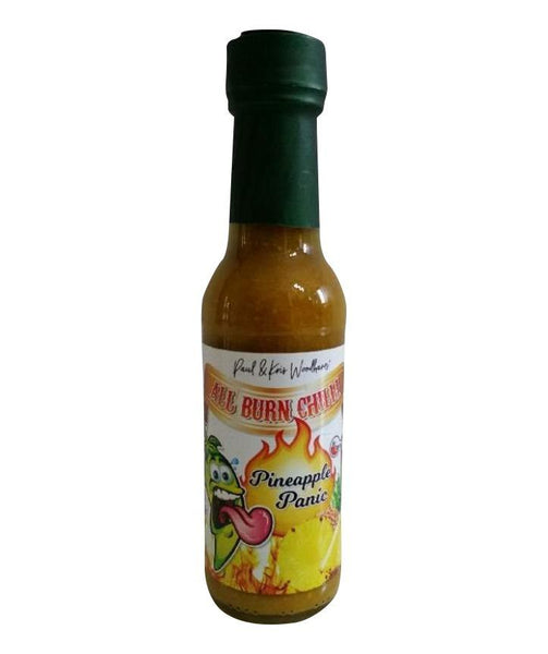Pineapple Panic Hot Sauce by All Burn Chilli - House of Scoville