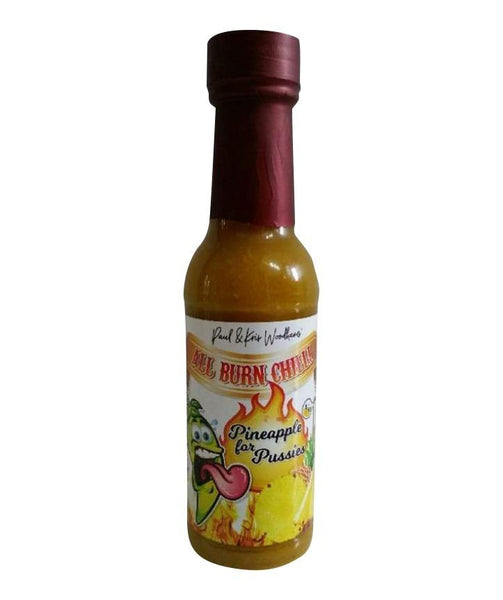 Pineapple for Pussies Hot Sauce by All Burn Chilli - House of Scoville