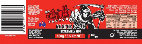 Reaper Paste by The Chilli Factory - House of Scoville