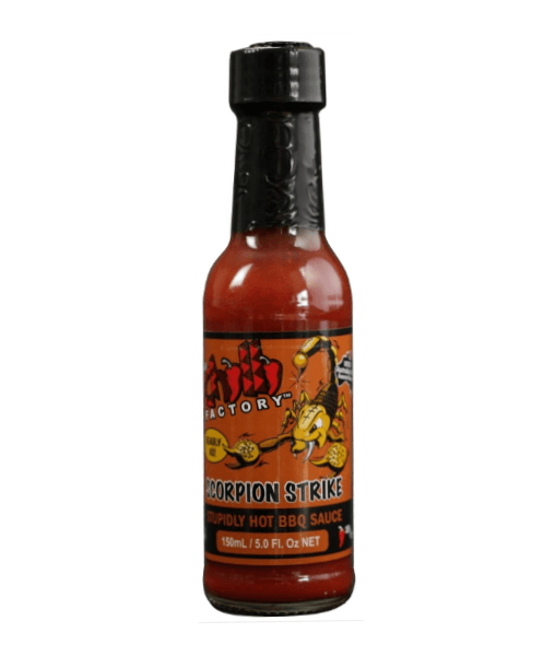 Scorpion Strike Stupidly Hot BBQ Sauce by The Chilli Factory - House of Scoville
