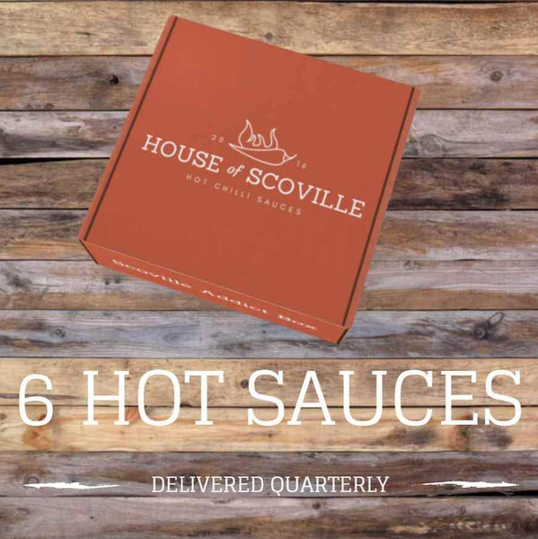 Scoville Addict Box (6 Hot Sauces Quarterly) - House of Scoville