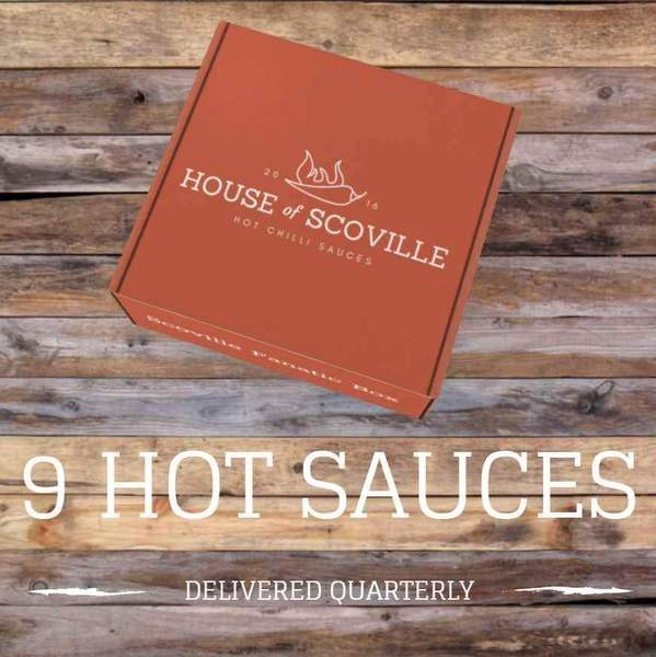 Scoville Fanatic Box (9 Hot Sauces Quarterly) - House of Scoville