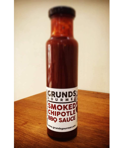 Smoked Chipotle BBQ Sauce by Grunds - House of Scoville