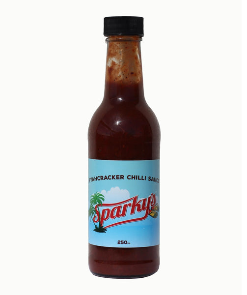 Fyahcracker Chilli Sauce by Sparky's Sauces - House of Scoville