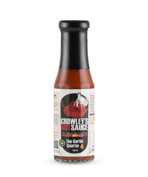 The Garlic Source by Crowley's Hot Sauce - House of Scoville