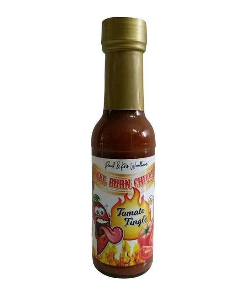 Tomato Tingle Hot Sauce by All Burn Chilli - House of Scoville