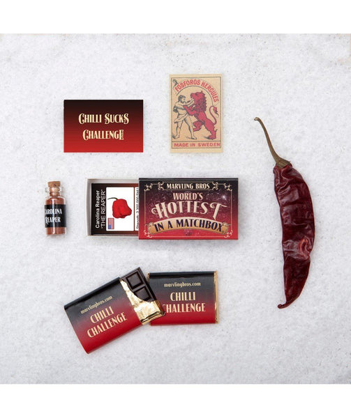 World's Hottest Stuff in a Matchbox by Marvling Bros - House of Scoville