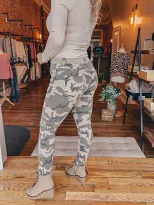 On the Go Camo Jogger