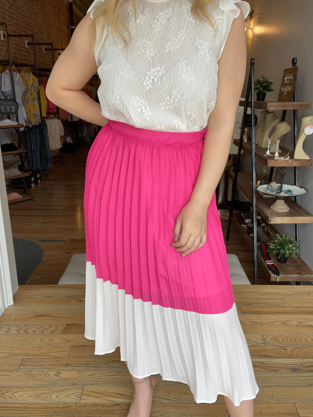 Sweet Life Colorblock Skirt
