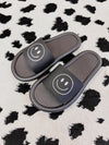 Dusty Pink Leopard Sweater