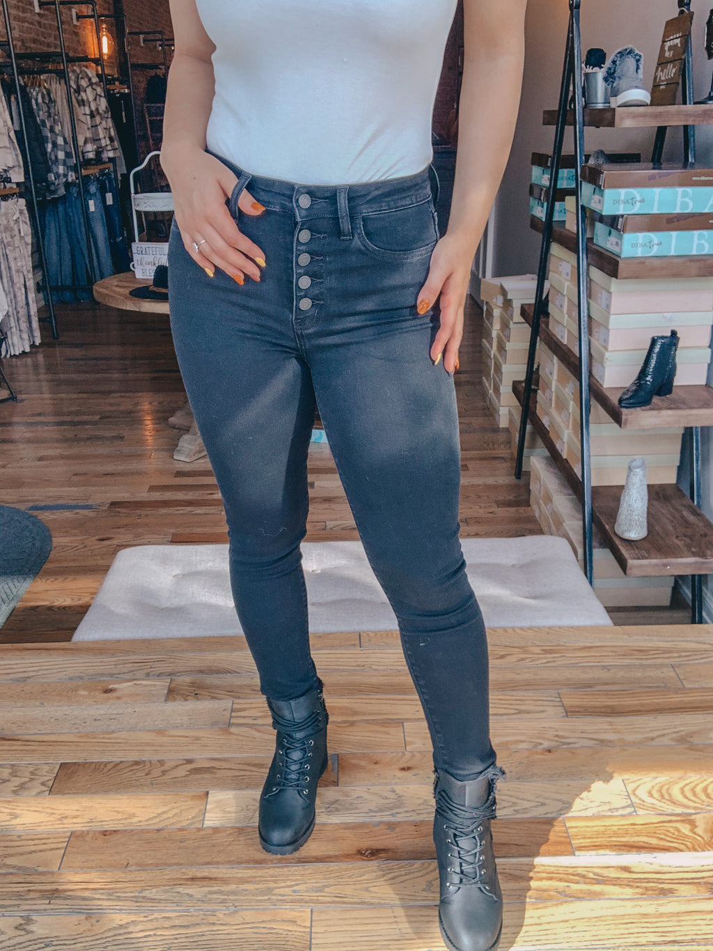 Maddie High Rise Jean