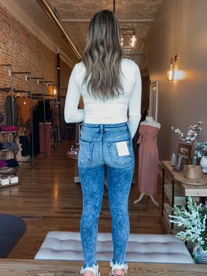 Fiona High Rise Luxe Jean