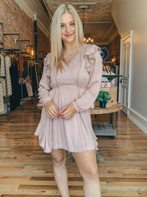 Chic Blush Dress