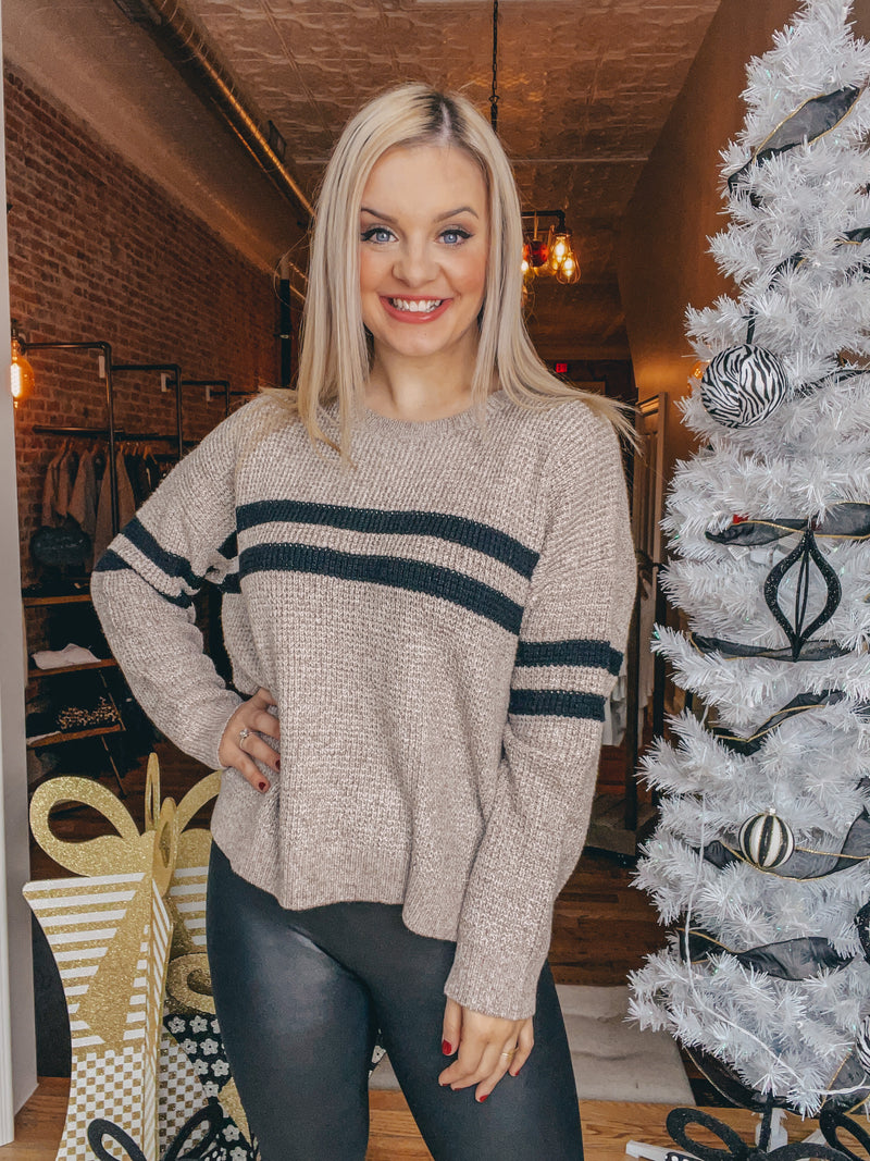 KERISMA Striped Cutie Sweater