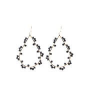 Ashton Earrings- Black