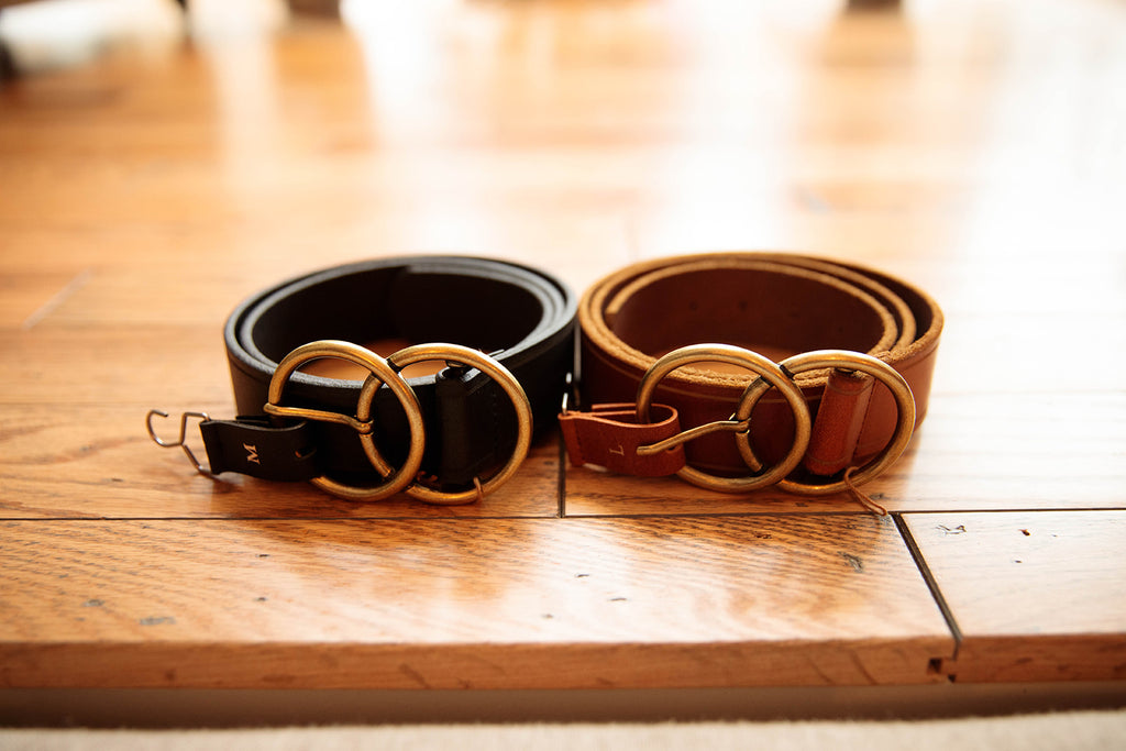 Double O Real Leather Belt