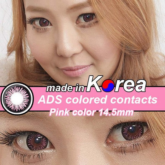 ADS PINK colored contacts