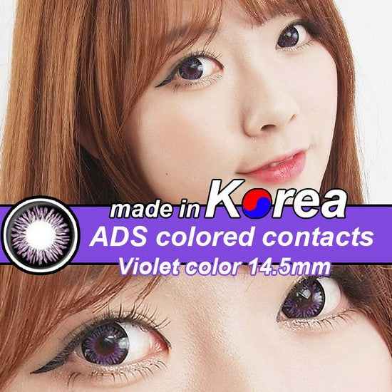 ADS PURPLE colored contacts