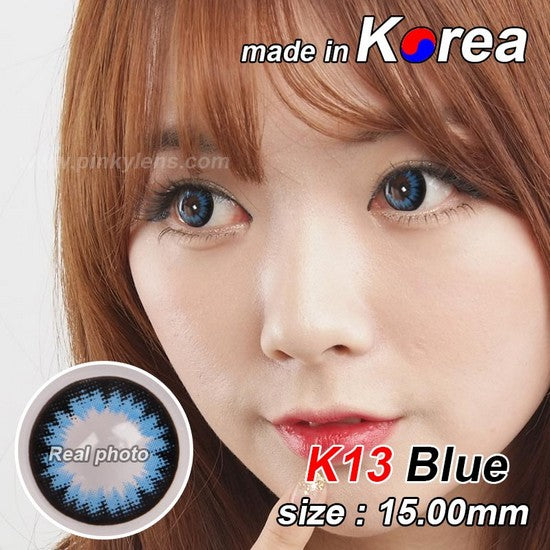 K13 BLUE colored contacts