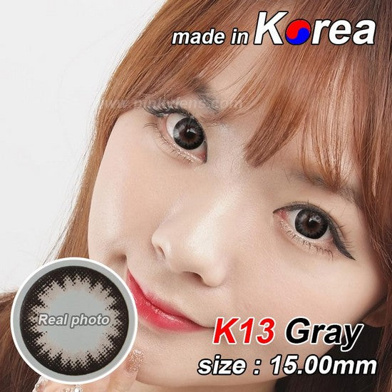 K13 GREY colored contacts