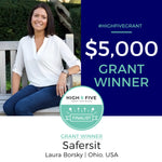 And the WINNER of the 2019 High Five Grant For Moms Is......