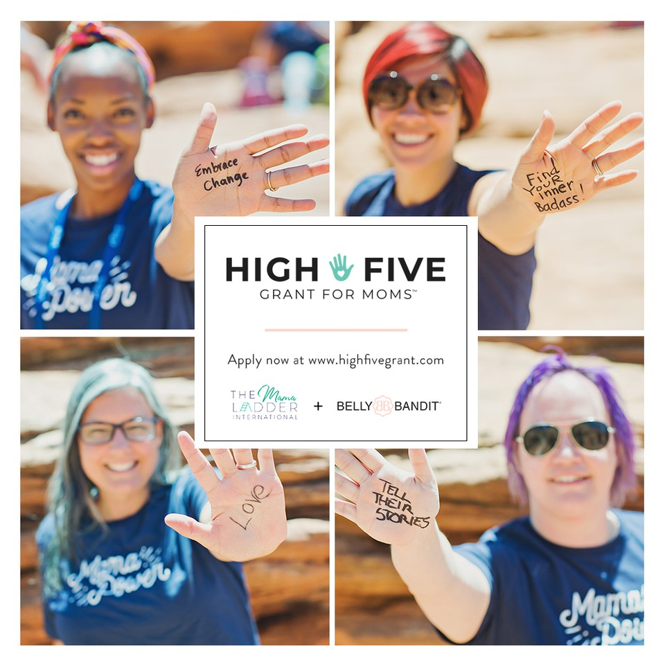 $5,000 High Five Grant For Moms!