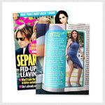 Jenni Pulos in Star Magazine