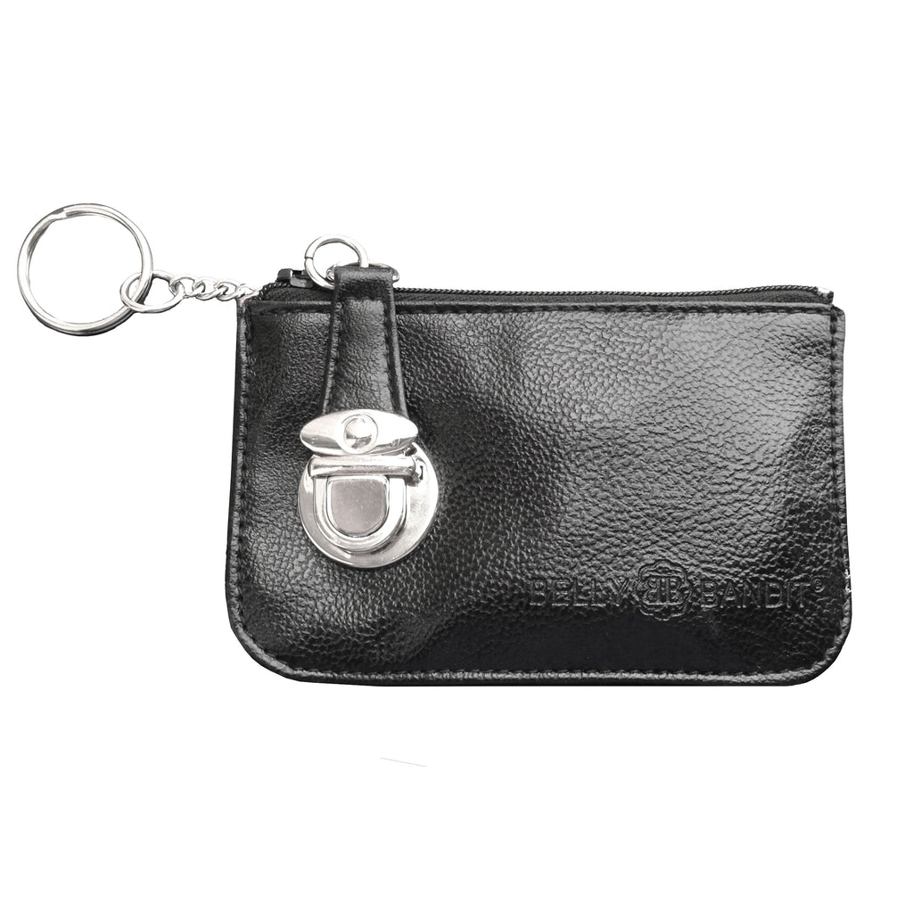 FREE! Black Leather Coin Purse