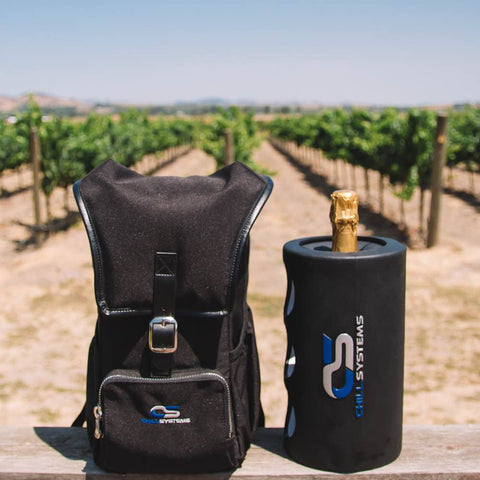 Image of winery backpack cooler wine chiller product