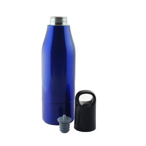 Image of Icy Bev Bottle Cooler - Blue