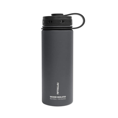 18oz Insulated Water Bottle - Slate