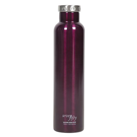 750ml/25oz Wine Growler - Burgundy