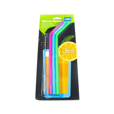 Image of Silicone Reusable Straws