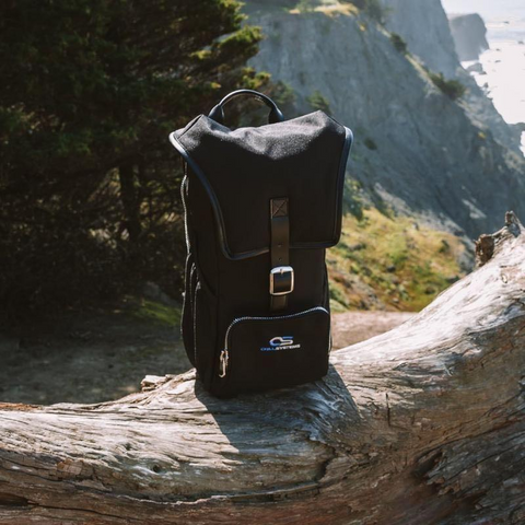 Image of backpack for hikes trips travel festivals