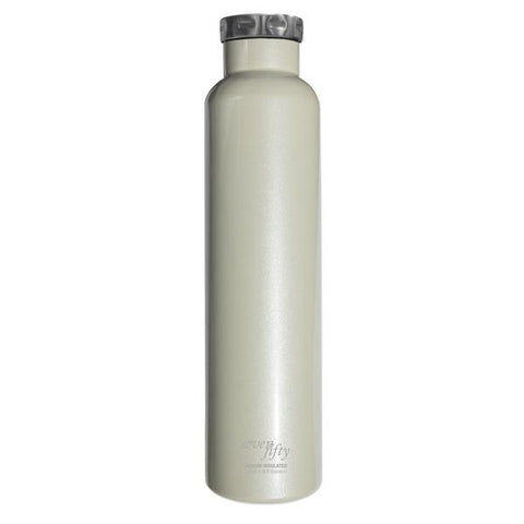 Image of 750ml/25oz Wine Growler - Pearl White