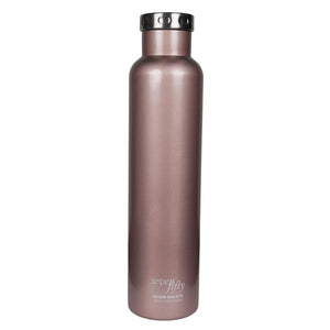 750ml/25oz Wine Growler - Rose Gold