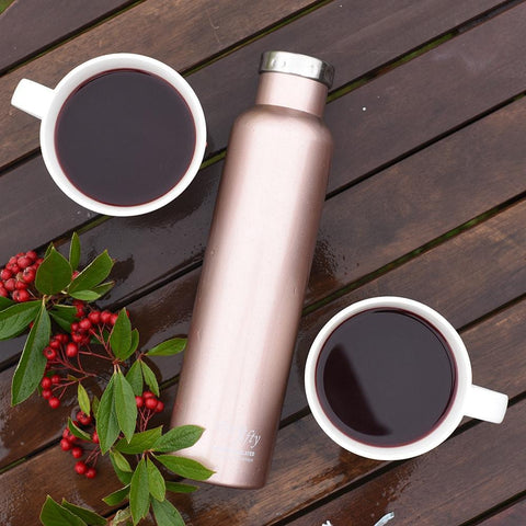 Image of 750ml/25oz Wine Growler - Rose Gold